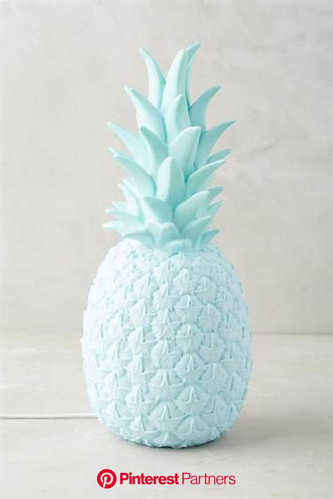 Pineapples are having a moment! 39 ways to try this fruity summer trend | Blue inspiration, Blue aesthetic pastel, Light blue aesthetic
