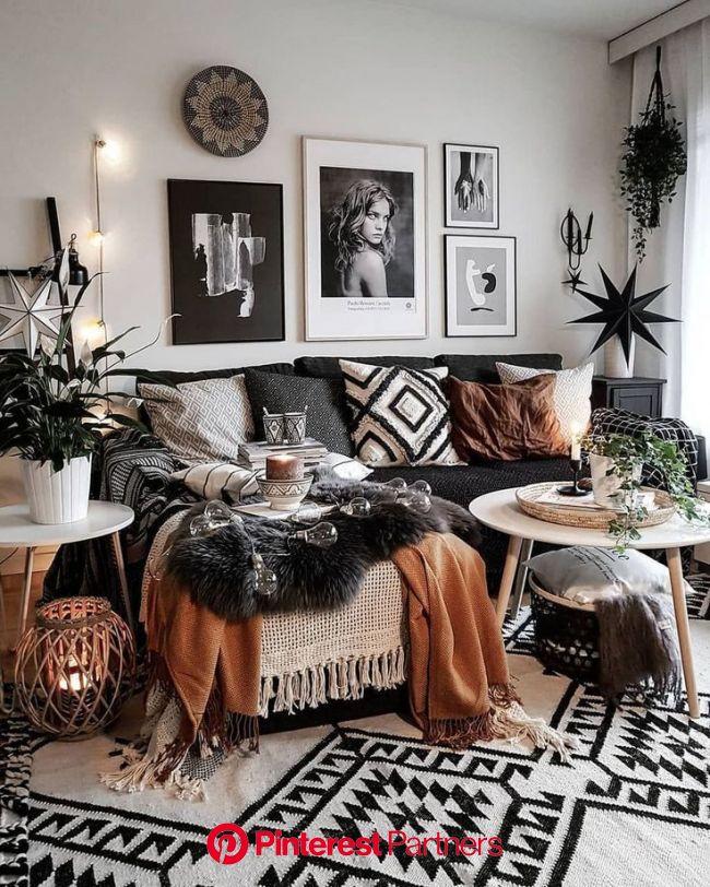 30+ Moderne und gemütliche Wohnzimmer Inspiration Ideen - Today Pin   Bohemian style living room, Living room decor modern, Cozy living rooms