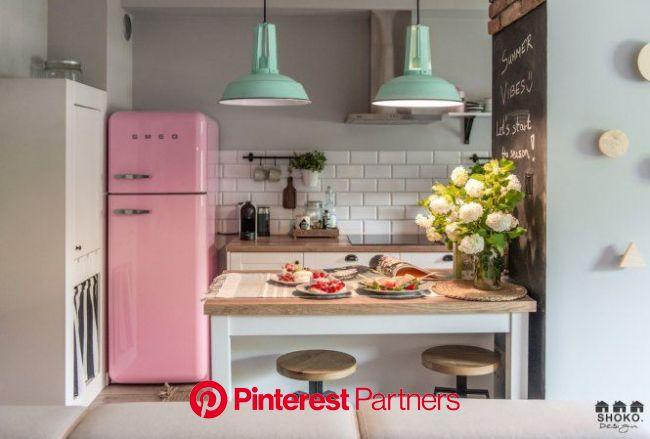 Frigorífico Smeg rosa | delikatissen | Decoración de cocina moderna, Decoración de cocina, Fotos de decoración para el hogar
