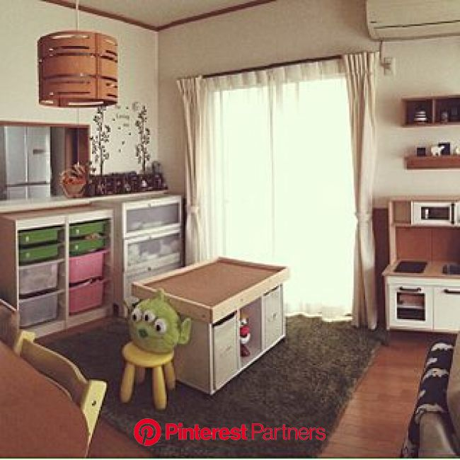 リビング/子供キッチン/IKEA/トミカ/トイストーリー...などのインテリア実例 - 2014-03-03 10:09:40   RoomClip(ルームクリップ)   インテリア, キッズスペース, 模様替え