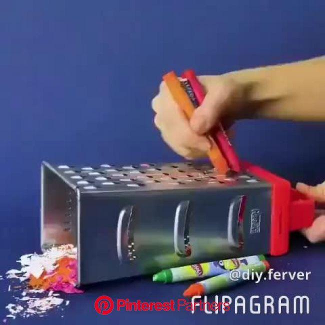 クレヨンアートの発想力が素敵すぎる! | 楽しい手作り, クレヨン, クリスマス 手作り カード
