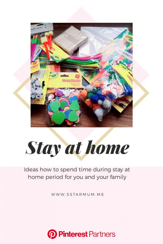 THINGS TO DO AT HOME FOR YOU AND YOUR KIDS in 2020 (With images) | Things to do at home, Kids, Our kids