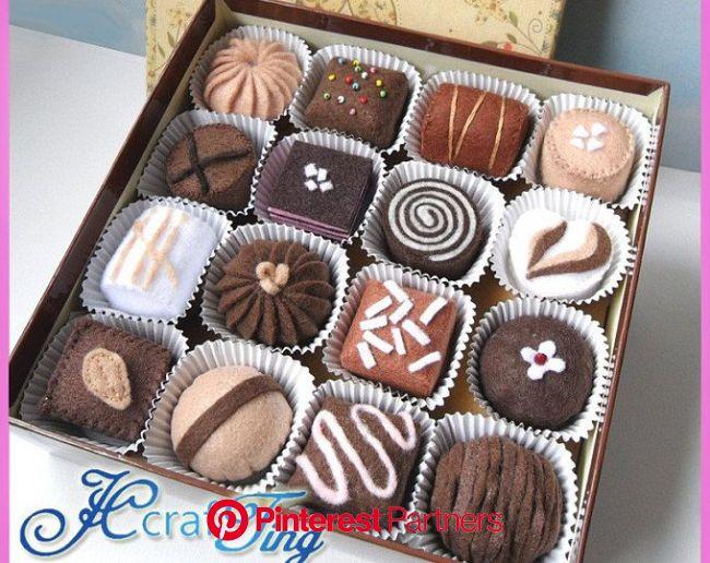 Fruit Tarts PDF pattern | Etsy | Chocolate delight, Felt food patterns, Felt cake