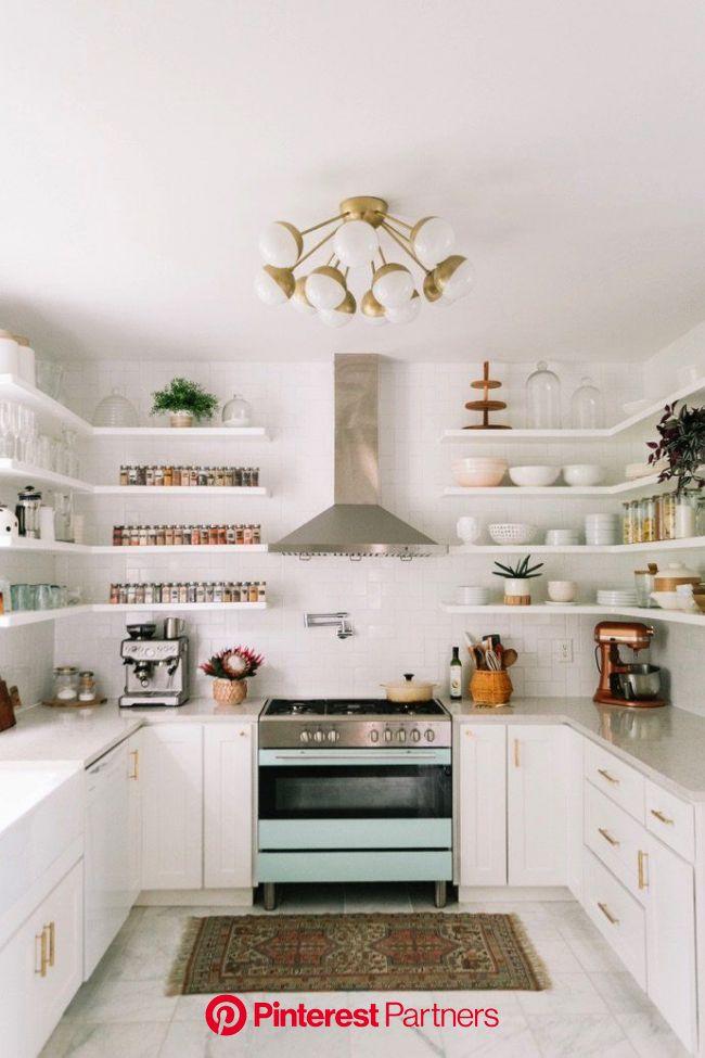 Elsie Larson's Bold And Colorful Nashville Home (With images) | Kitchen decor modern, Home decor kitchen, Kitchen renovation