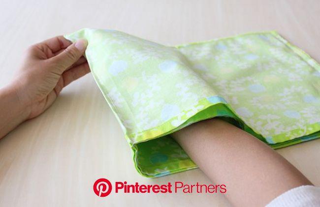 パタンパタンと折りたたんで縫うだけ!のバックインバッグの作り方 | バッグの作り方, バッグ イン バッグ 作り方, バックインバック 作り方