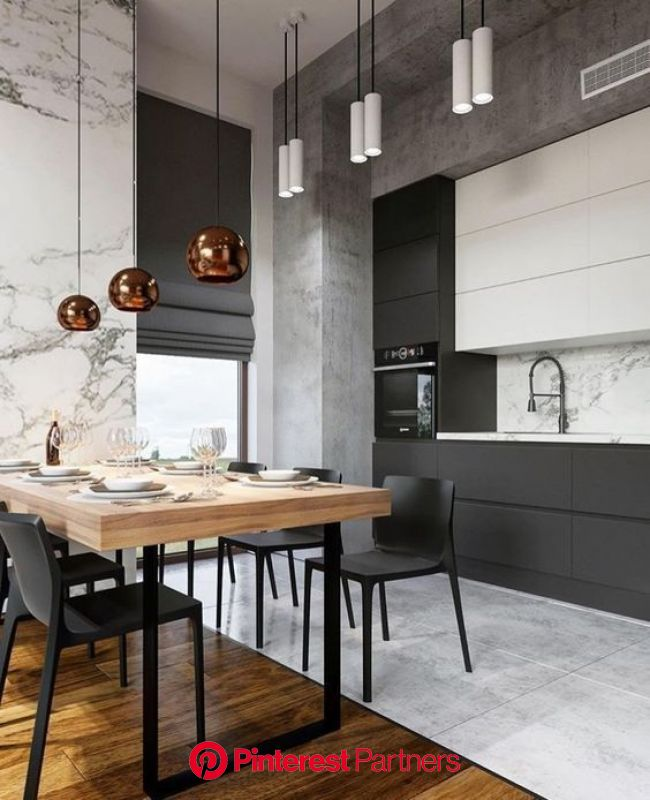 Check out these beautiful black and white matte cabinets that are perfect for any home. Lear… (With images) | Home decor kitchen, Kitchen interior des