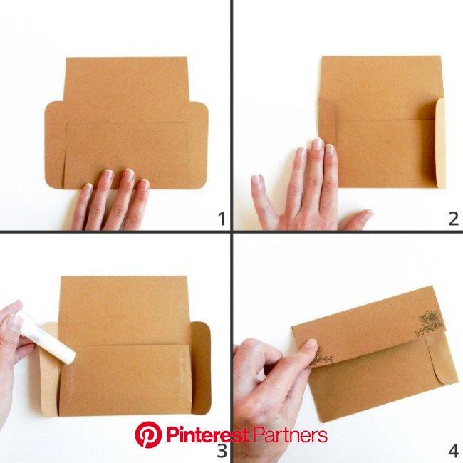 Printable Mail Art Envelope Templates (With images) | Diy, Prezenty, Opakowania