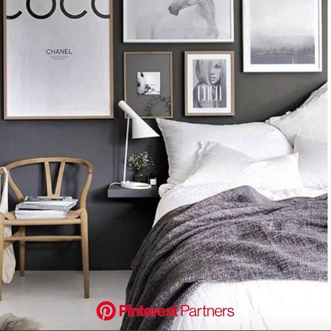 グレーで魅せる♡スーパークールな大人インテリア集 | ベッドルームのデザイン, インテリア グレー, ベッドルームのアイデア