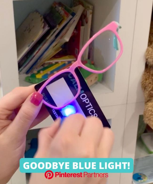 Blue light blocking glasses designed to protect both kids and adults from the harmful effects of blue light emitted … [Video] | Cool things to buy, Di
