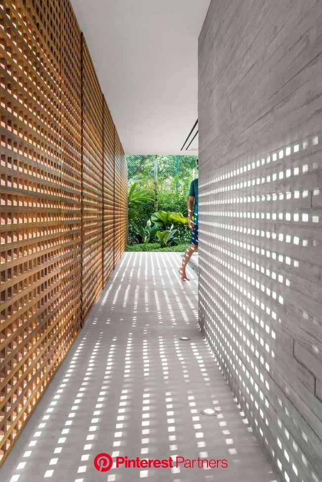 Casa moderna em São Sebastião - Decostore | Arquitetura de casa, Detalhes da arquitetura, Casa minimalista
