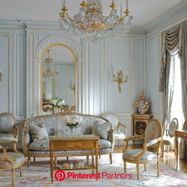 Inside New York City's Most Spectacular Private Rooms | French living rooms, House interior, Home