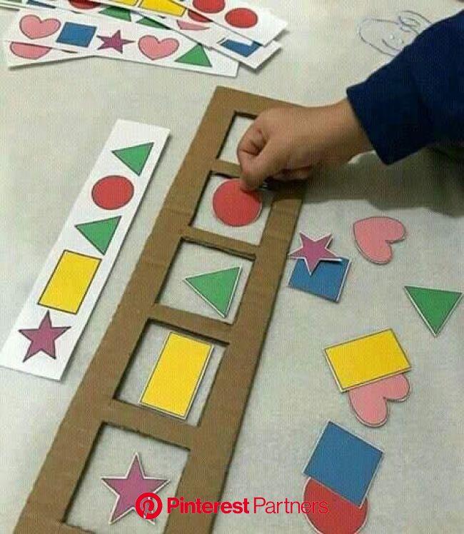 Aprender figuras geométricas de um modo fácil em 2020 (com imagens) | Formas de aprendizagem, Materiais montessori, Atividades de aprendizagem para cr