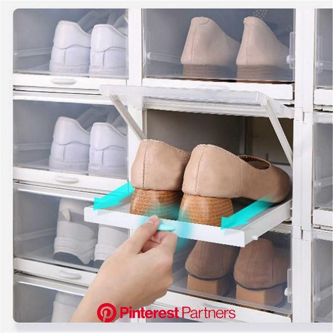 Easy Access Drawer Shoe Box | Shoe storage