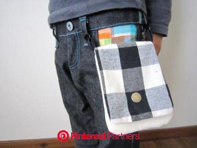 無料レシピ★縦型移動ポケットの作り方   MMM   移動ポケット, 服, 子供服 型紙
