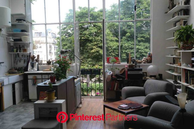 Artist studio in Montmartre. in Paris | Lofts for rent, Vacation home, Holiday rental