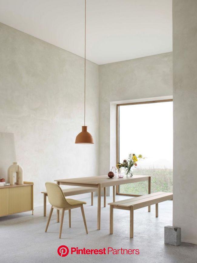 Buy Muuto Linear Wood Table - 140x85cm   AMARA in 2020   Minimalist dining room, Wooden dining room furniture, Dining room design