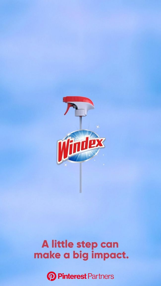 A little step can make a big impact. New Windex® Refills Available Now. [Video] in 2021 | Windex, Reduce plastic waste, Charlie brown birthday party