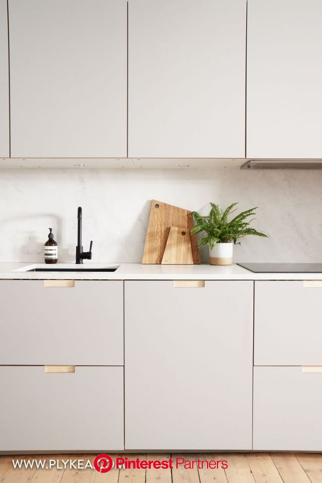 Birch Plywood Formica Doors And Worktops For Ikea Kitchens In 2020 Plywood Kitchen Kitchen Interior Kitchen Remodel Sayo