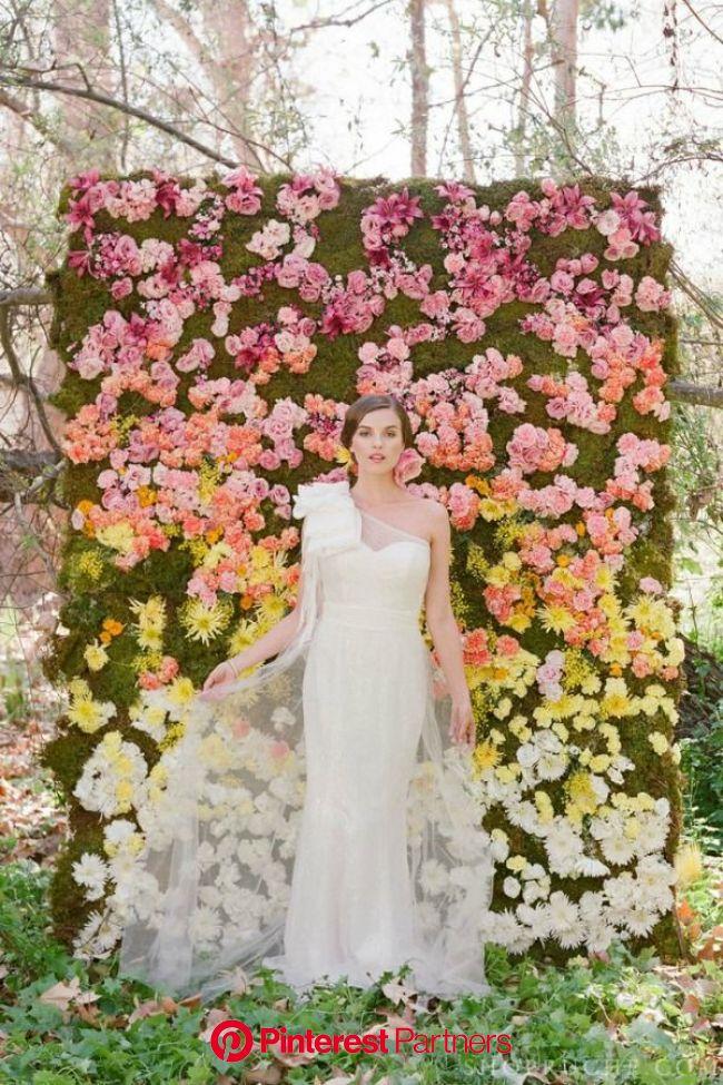 20 Garden Wedding Ideas - Bajan Wed | Lovely wedding dress, Dreamy wedding, Floral backdrop