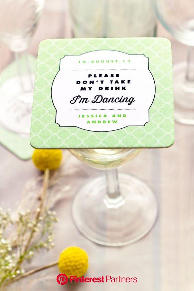 Wedding Coaster Ideas | Wedding coasters, Fun wedding, Wedding