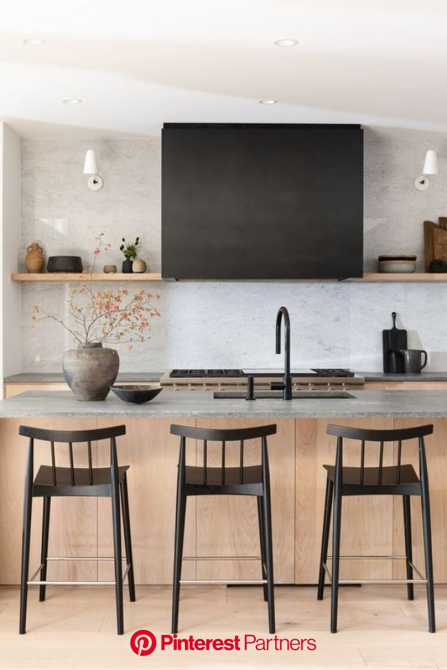 My Favorite Spaces of the Week in 2020 | Farmhouse kitchen design, Kitchen lighting design, Kitchen design