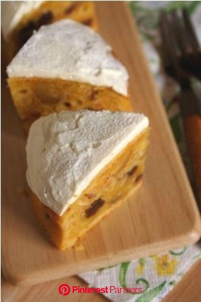 10年かかりました・・。秘密のキャロットケーキ。 | ニンジンケーキ, レシピ, スイーツ レシピ