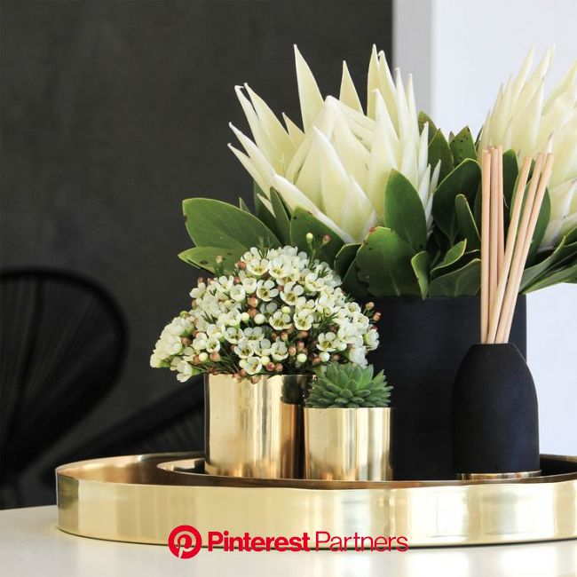 Up-cycle our pure copper and brass Cocolux candle vessels and a planter of vase. | Table decor living room, Decorating coffee tables, Decor