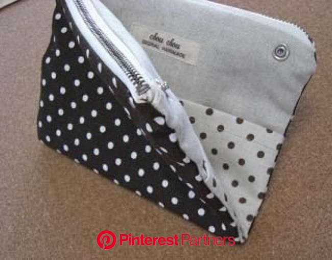 2Wayポーチ | ATELIER chou*chou | 手作り 小物, ポケット 作り方, 三角ポーチ