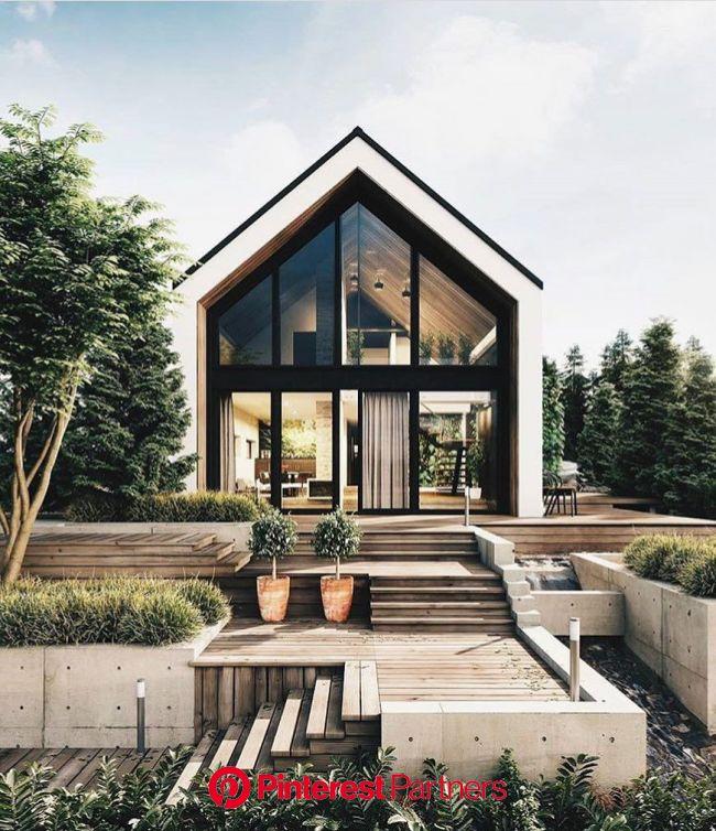 Random Inspiration 406 | House in the woods, Modern house design, Prefabricated houses