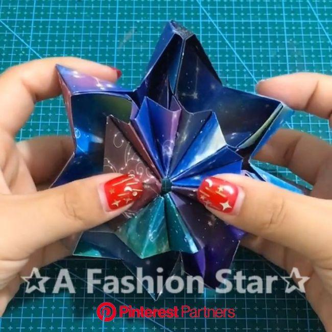 Amazing Origami Art ✰A Fashion Star✰ (con imágenes) | Manualidades creativas, Manualidades origami, Origami para principiantes