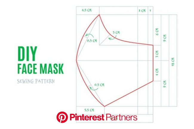Скачивайте Выкройка маски для лица бесплатно | Sewing patterns, Sewing patterns free, Printable sewing patterns