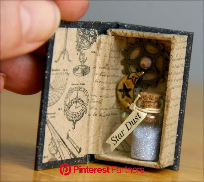Kay's Keepsakes: Constellations Matchbox Library | Matchbox crafts, Miniature books, Matchbox