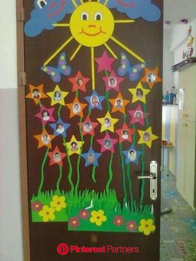 30 Ideas de decoración para el salón de clase - Educaciín Preescolar - Alumno On | Manualidades preescolar, Decoraciones escolares, Decoración preesco