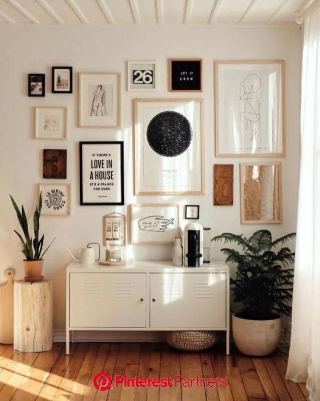 Shopping déco : l'appartement farmhouse épuré de Brook & Peony, styliste (avec images) | Deco appartement, Déco rustique, Déco maison
