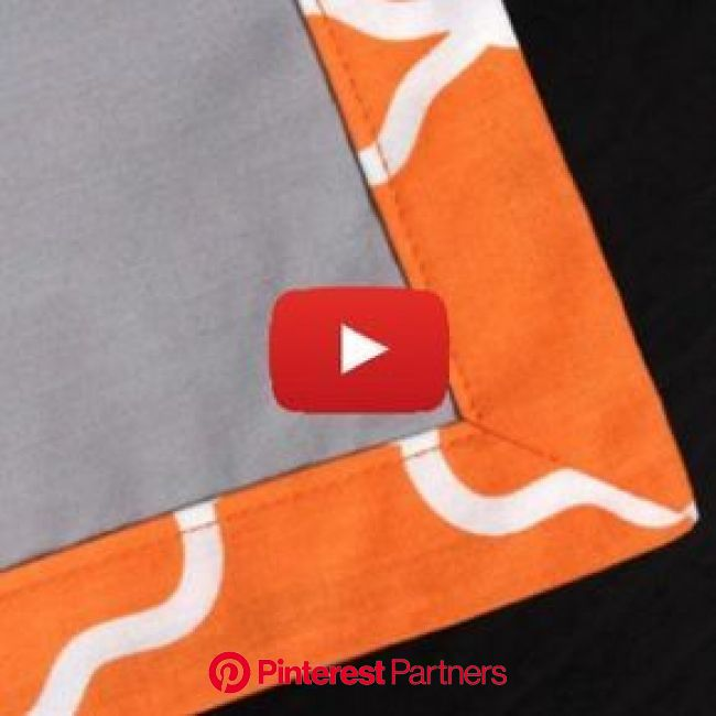 Create Mitered Corners | Sewing mitered corners, Sewing tutorials, Sewing projects for beginners