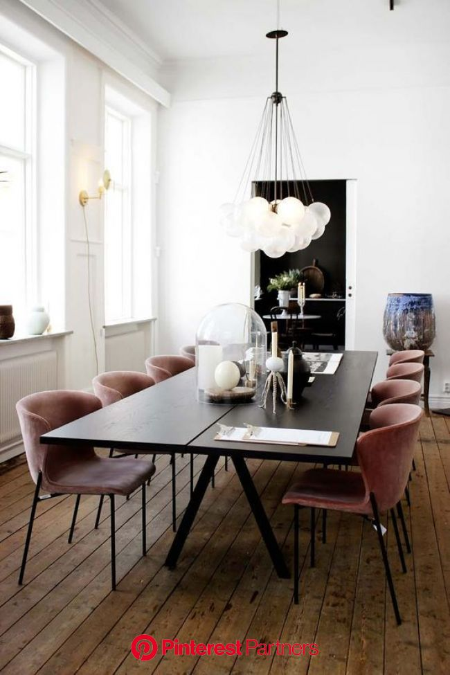 Feeling Those Fall Vibes | Apartment dining, Luxury dining, Modern dining room