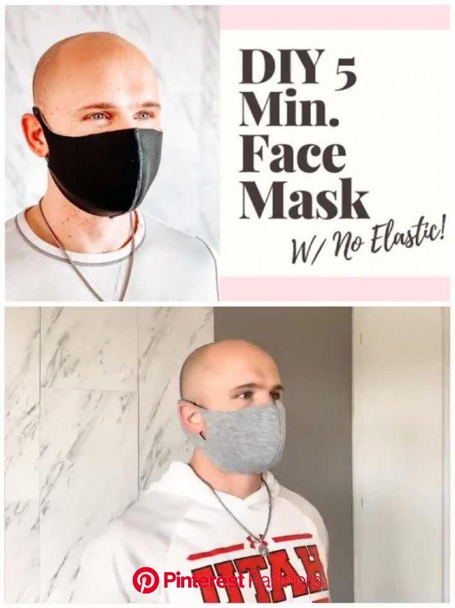 Neoprene Face Mask Sewing Pattern For Kids & Adults [Video] [Video] | Neoprene face mask, Easy face masks, Easy face mask diy