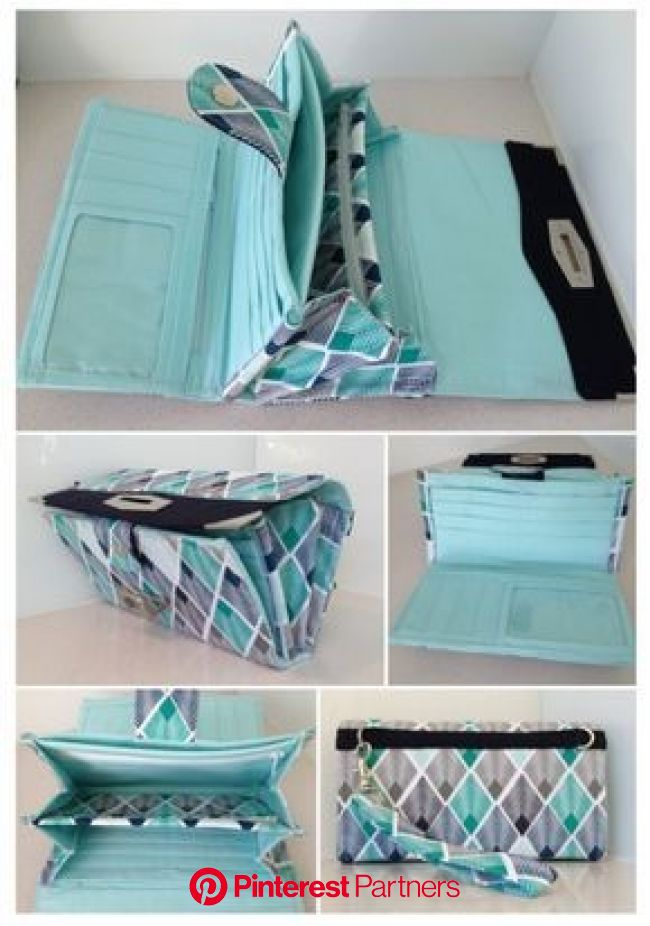 The Penny Inn Sew Along - Part Four | Wallet sewing pattern, Diy wallet pattern, Sew wallet