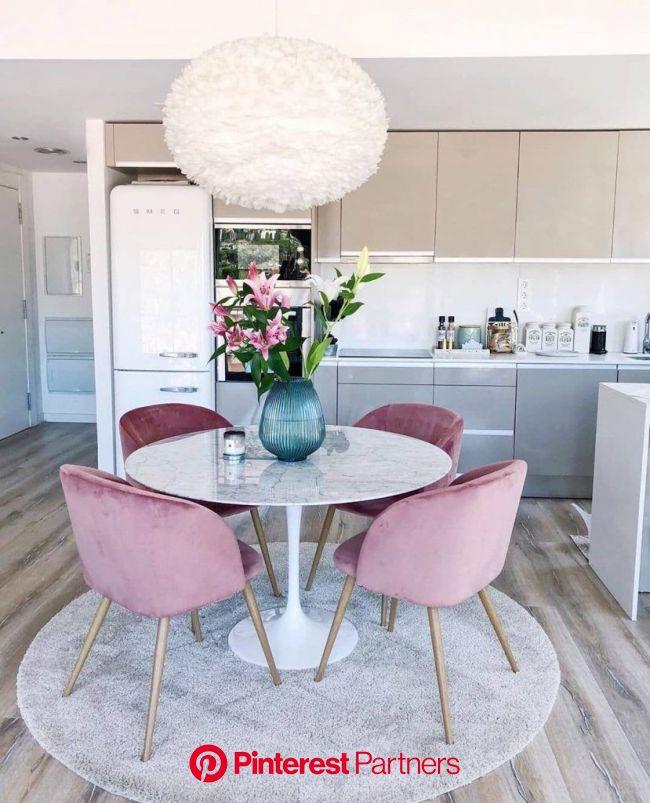 30+ Literally Dinner Table Ideas for Every Situation 2019 - Page 29 of 37 - My Blog   Diseño de interior para apartamento, Diseño de sala comedor, Int