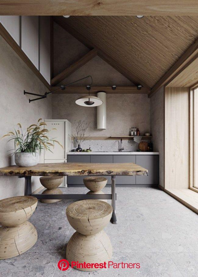 El nuevo terrazo | Diseño de interiores de cocina, Interior de cocina, Cocina nórdica