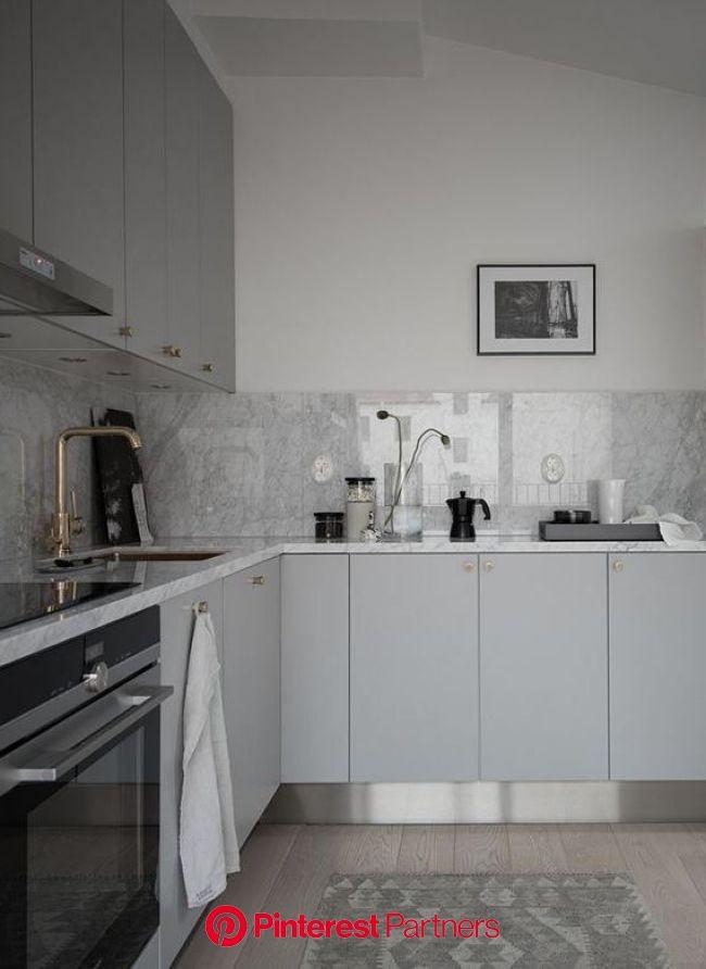 Beautiful living kitchen (avec images) | Cuisine appartement, Cuisine moderne, Cuisines maison