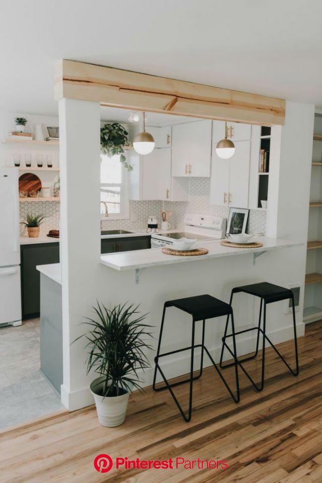 Mid-Century Ranch With Serene Minimal Style | Kitchen room design, Kitchen furniture design, Home decor kitchen