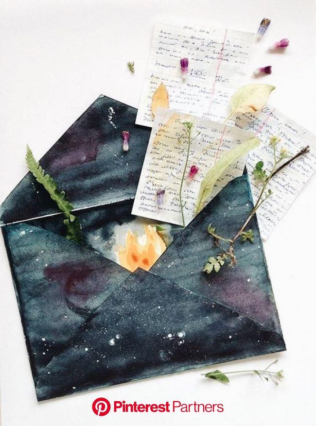 Lets be pen pals!  on We Heart It | Envelope art, Snail mail art, Mail art