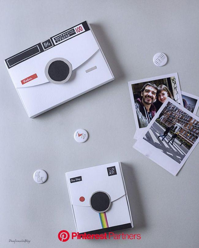 DIY: cajitas molonas para regalar fotos - Parafernalia | Regalos de fotos, Caja con fotos, Regalos creativos