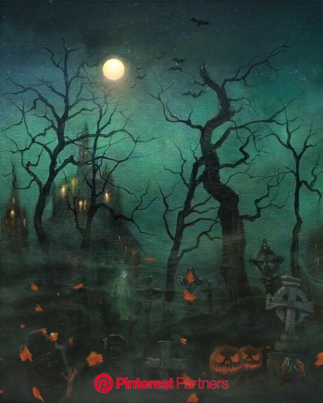 ????Happy Halloween ???? [Video] | Halloween live wallpaper, Halloween artwork, Happy halloween pictures
