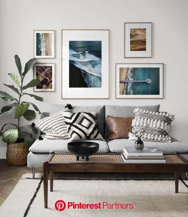 Gallery wall for the living room. Inspiration for the living room - Desenio | Picture wall living room, Gallery wall living room, Living room pictures