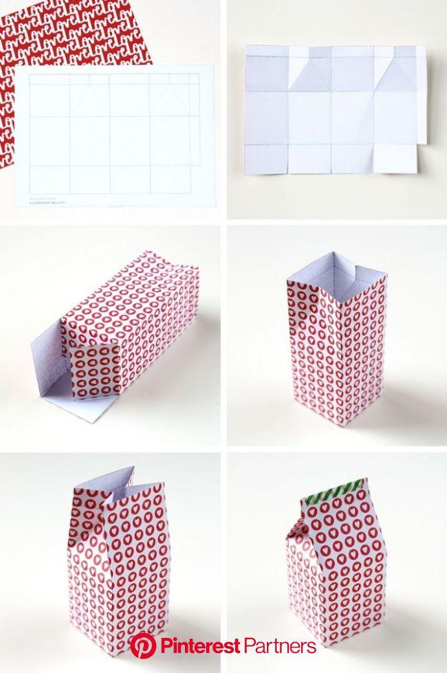 牛乳パックでできるかわいい小物。ナイスアイデア作品事例集(画像あり) | Diy ギフト, 紙の家