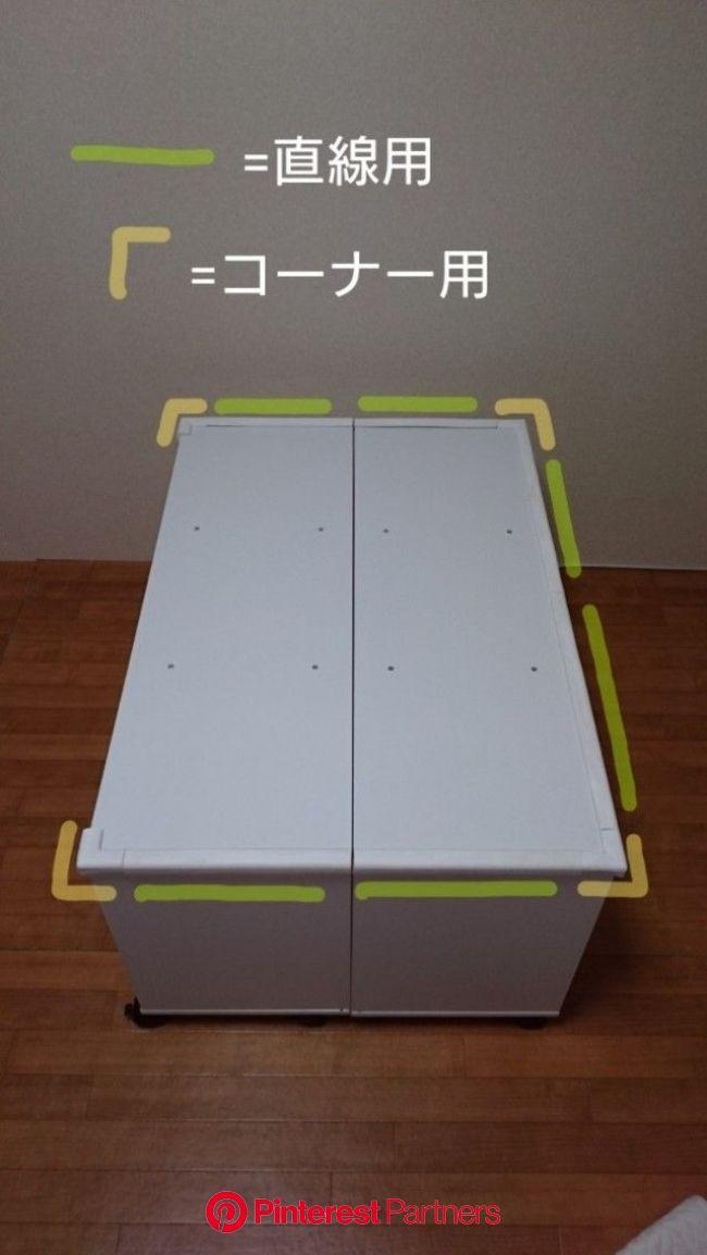 1台三役で省スペース!カラーボックスでレゴ風収納棚&プレイテーブル&簡易ベンチ   プレイテーブル, おもちゃ 収納 カラーボックス, カラーボックス