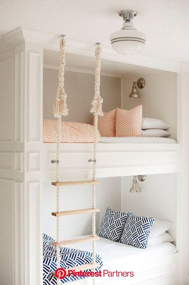 Casual Friday 014   Girl bedroom designs, Bunk room, Built in bunks