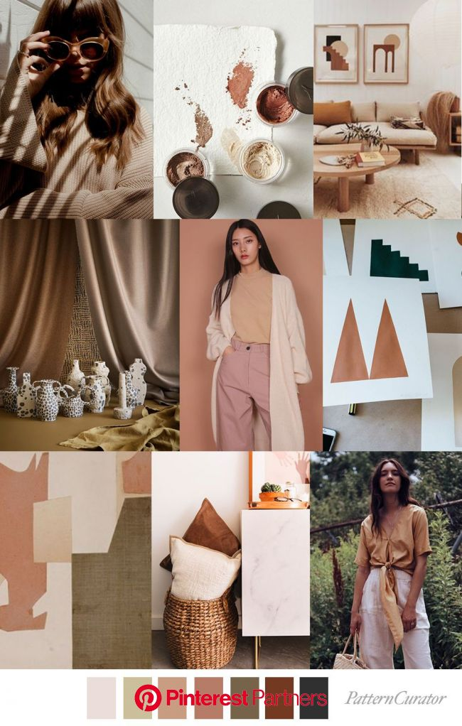 HONEY ALMOND | Fashion trending moodboard, Color trends fashion, Mood board fashion